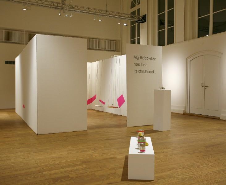 installation view Museum Kunsthaus Wiesbaden