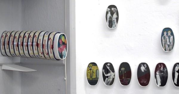 installation view, artist studio