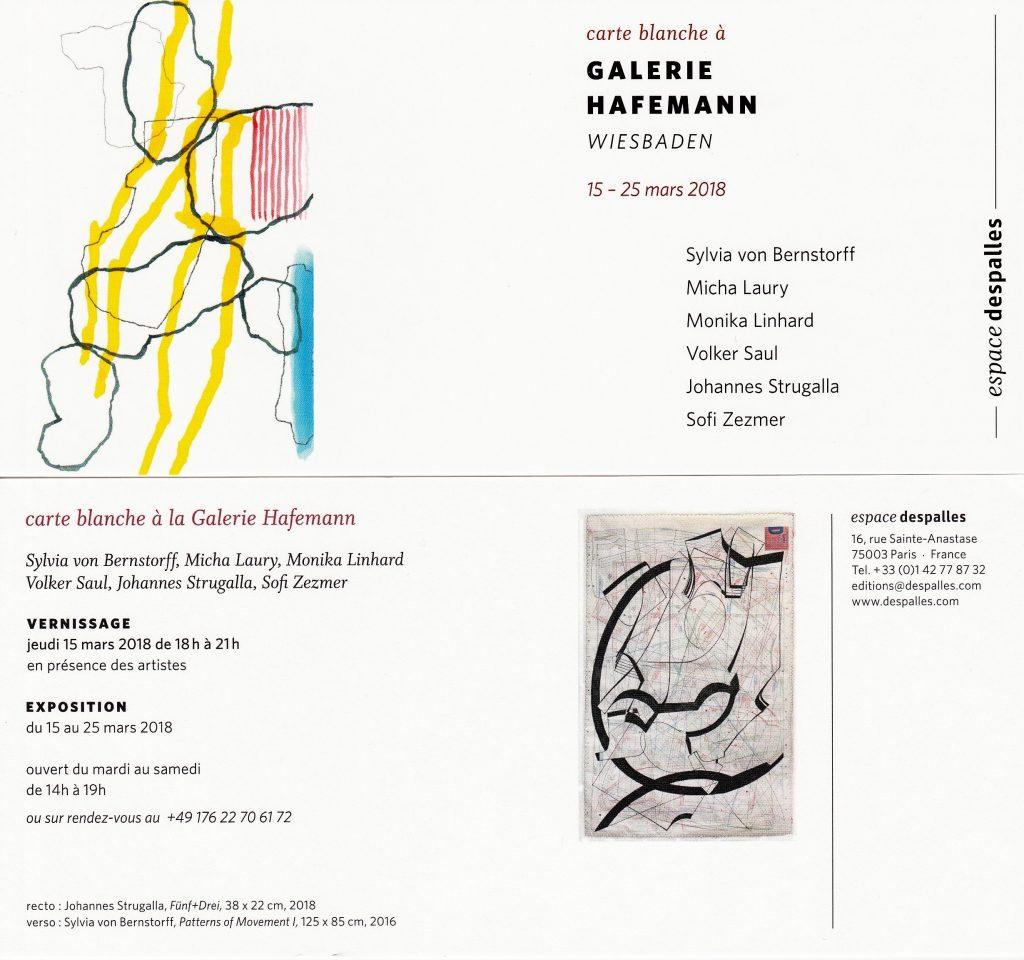 c7b18dde2e80bb Ausstellung Galerie Hafemann im espace despalles Paris – fear no art