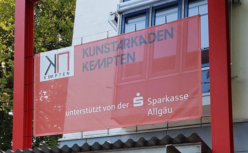 Atelierstipendium 2.-30. Juni Kunstarkaden Kempten / Allgäu